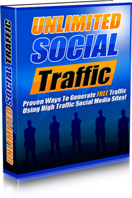 Product picture Unlimited Social Traffic
